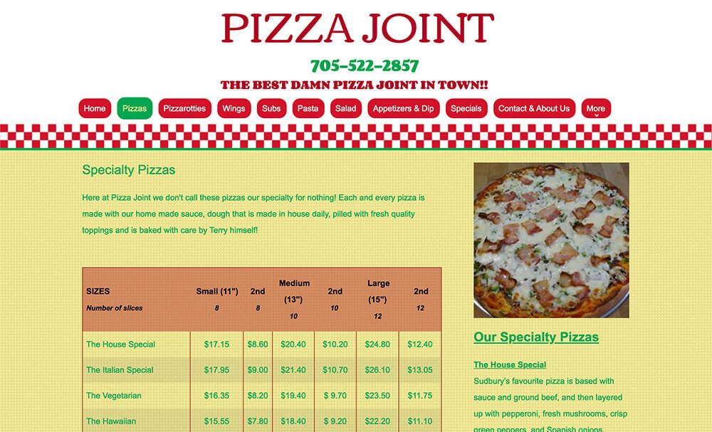 pizza-joint-old-website